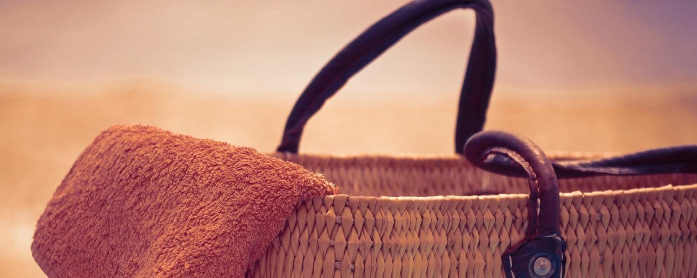 Sacs de plage et d'été, cabas de plage