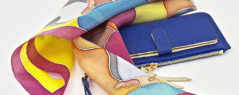 Mode, accessoires et maroquinerie: foulards chics et tendance