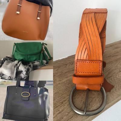 Découvrez nos nouveautés... www.lescoupsdecoeurdelysia.com #sacamain #foulard #ceinture #bijouxfemme