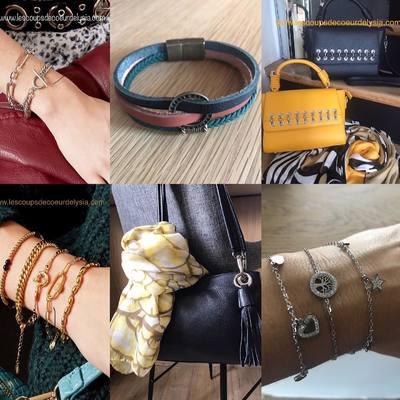 Sacs, foulards, bijoux..... www.lescoupsdecoeurdelysia.com #sacamain  #foulard  #bracelethomme  #braceletsfantaisie