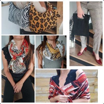 Voici un aperçu de la collection automnale.  www.lescoupsdecoeurdelysia.com #sacs #foulards  #echarpe