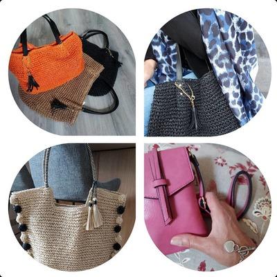 Derniers jours avant la fête des mères. Bénéficiez d'une remise de 10€ dès 50€ d'achats. Code ( MAMAN) #cadeaufetedesmeres #mode #foulards #sacamain #fashion